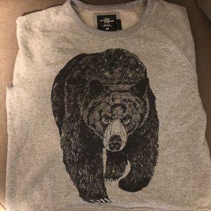 Men's Sz Lg Bear Sweatshirt